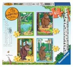 Rav-071579 , Gruffalo  puzzel 12 - 16 -20 - 24