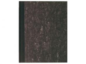 , Register breedkwarto 400blz gelinieerd grijs gewlokt