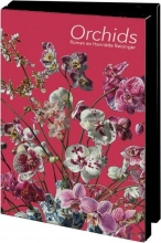Mcw241 , Notecards 10 stuks 8x14 orchids roman en henriette reisinger