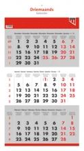 , Drie maandskalender quantore 2021