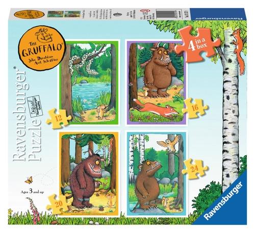 Rav-071579,Gruffalo  puzzel 12 - 16 -20 - 24
