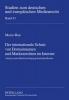Rau, Marco, Der internationale Schutz von Domainnamen und Markenrechten im Internet