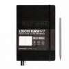 <b>Lt346703</b>,Leuchtturm notitieboek medium bullet journal zwart