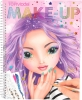 , Topmodel make-up colouring book