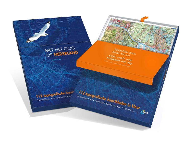 Reijers Kaartproducties BV,112 Topografische kaartbladen 1:50.000