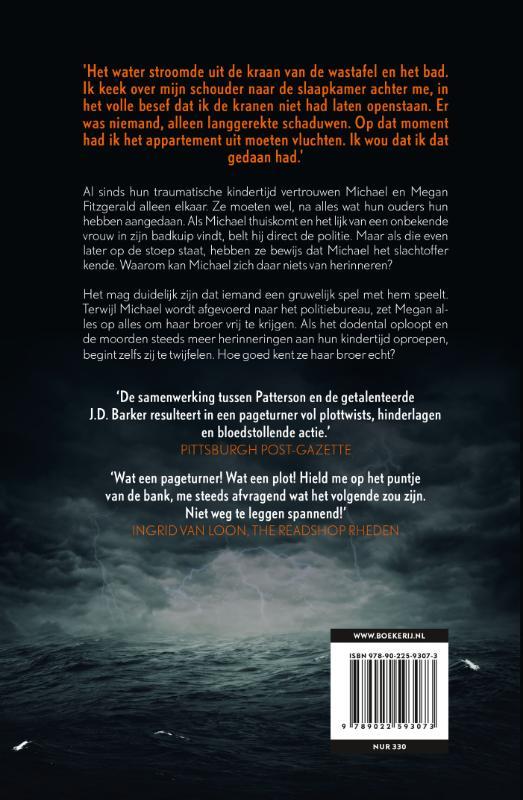 J.D. Barker, James Patterson,De kustmoorden