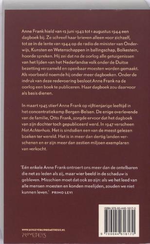 Anne Frank,Het achterhuis