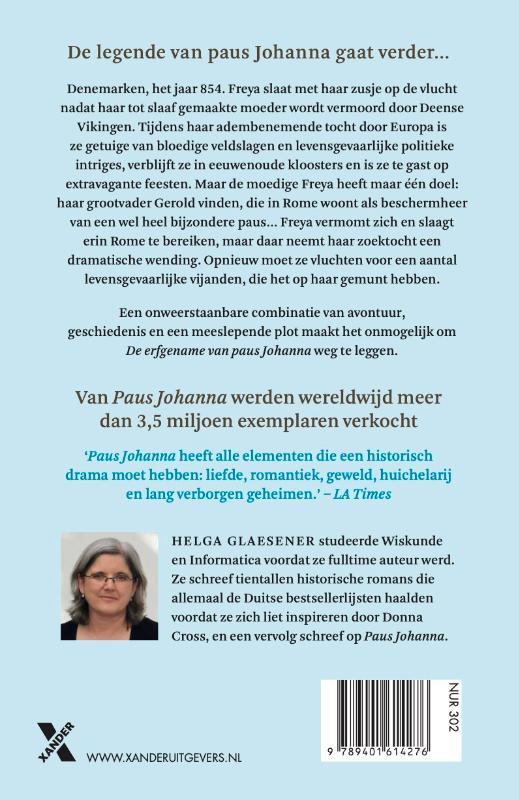 Helga Glaesener,De erfgename van Paus Johanna