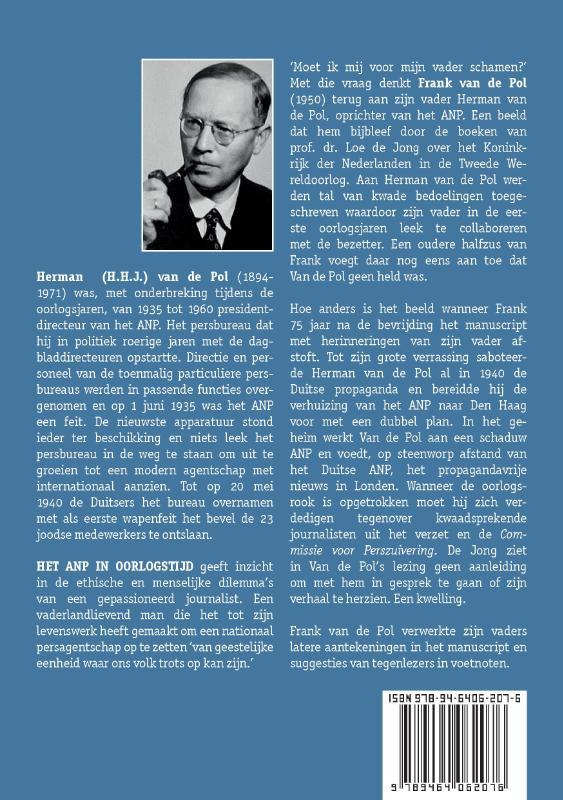 Herman H.J. Van de Pol,Het ANP in oorlogstijd