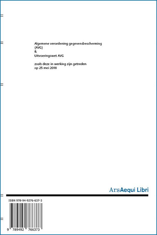,AVG & uitvoeringswet AVG 2018