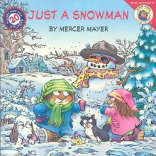 Mayer, Mercer Just a Snowman [With Stickers]