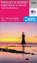 Ordnance Survey,Swansea & Gower, Carmarthen