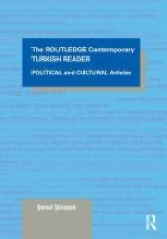 Symons, Senel The Routledge Intermediate Turkish Reader