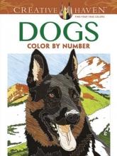 Pereira, Diego Jourdan Creative Haven Dogs Color by Number Coloring Book