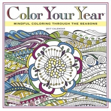 Workman Publishing Color Your Year Wall Calendar 2017
