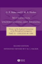 Baker, Gordon P. Wittgenstein: Understanding and Meaning