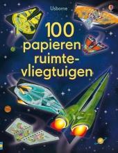 100 PAPIEREN RUIMTEVLIEGTUIGEN