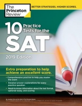 Chiu, Jonathan The Princeton Review 10 Practice Tests for the SAT 2019