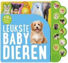, Leukste babydieren, geluidboek met 10 geluiden