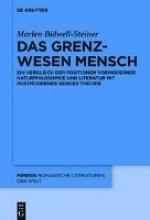 Bidwell-Steiner, Marlen Das Grenzwesen Mensch