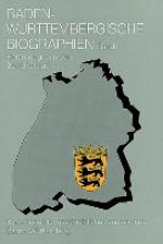 Baden-Wrttembergische Biographien I