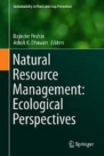 Rajinder Peshin,   Ashok K. Dhawan Natural Resource Management: Ecological Perspectives