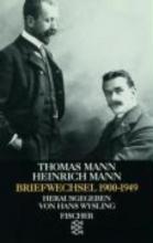 Mann, Thomas Briefwechsel 1900-1949