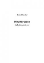 Bibel fr jeden (in Reimen zu lesen)