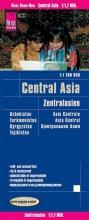 Reise Know-How Verlag Peter Rump, Reise Know-How Landkarte Zentralasien (1:1.700.000) : Usbekistan, Kirgisistan, Turkmenistan und Tadschikistan