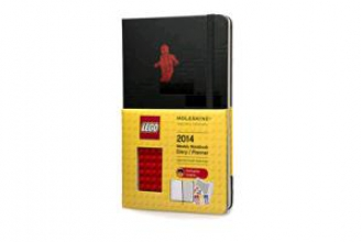 2014 Lego Red Brick Large Hard 12 Month Weekly