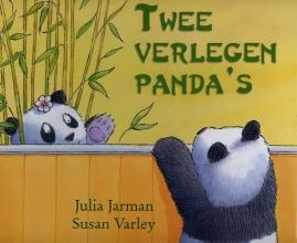 Julia  Jarman Twee verlegen panda`s