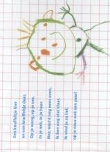 Nannie  Kuiper Plint Poeziekaart Navulset `Knuffeltje` Nannie Kuiper 7336