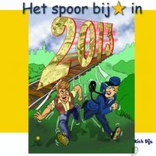 Rick  Dijs Het spoor bij ster in 2013 cartoonalbum 2