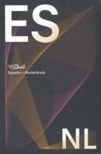 J.B.  Vuyk-Bosdriesz Van Dale Pocketwoordenboek Spaans-Nederlands - zwarte editie