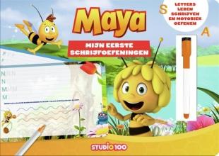 Studio 100 , Maya: kartonboek - Mijn eerste schrijfoefeningen