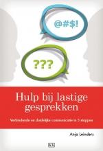 Anja  Leinders Hulp bij lastige gesprekken