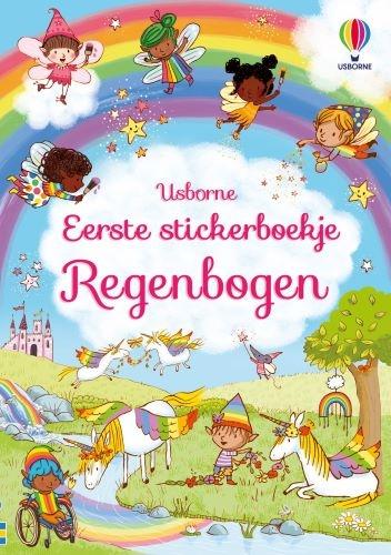 ,Eerste stickerboekje Regenbogen