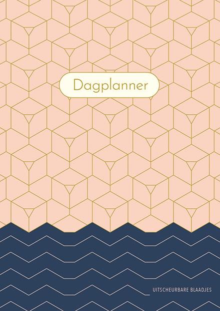 ZNU,Dagplanner - Pink Patterns