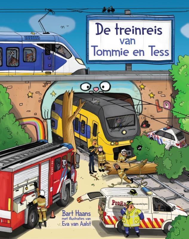 Bart Haans,De treinreis van Tommie en Tess