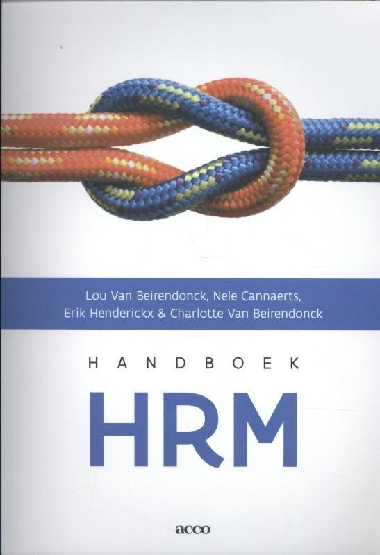 Lou Van Beirendonck, Nele Cannaerts, Erik Henderickx, Charlotte Van Beirendonck,Handboek HRM