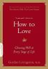 Livingston, Gordon,How to Love