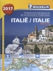 ,<b>ATLAS MICHELIN ITALIE 2017</b>
