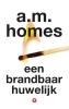A.M. Homes,Een brandbaar huwelijk