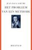 Jean-Paul Sartre,Het probleem van een methode