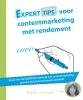 <b>Esther van Vondel</b>,Experttips boekenserie Experttips voor contentmarketing met rendement