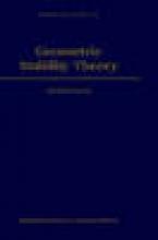 Anand (University of Illinois) Pillay Geometric Stability Theory