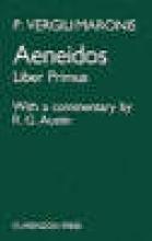Virgil,   R. G. Austin Aeneid: Book 1