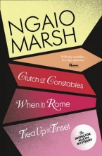 Ngaio Marsh Clutch of Constables When in Rome Tied Up In Tinsel