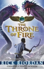Rick Riordan The Throne of Fire (The Kane Chronicles Book 2)