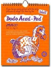 Dodo Wall Acad-Pad 2016 - 2017 Mid Year Calendar, Academic Y
